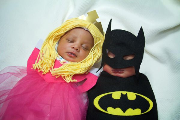 babies dressed up